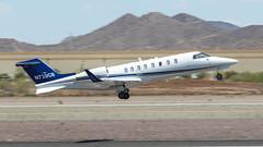 Learjet 45 N720GB (ChrisK48) Tags: airplane aircraft lear dvt phoenixaz learjet45 kdvt phoenixdeervalleyairport n720gb