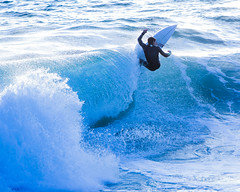 _61A4165 (exceptionaleye) Tags: ocean california water sport eos coast surf waves pacific availablelight shoreline wave surfing pacificocean coastal shore canoneos watersport canon70200f28l coastalview