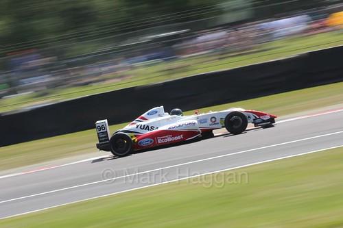 Jack Butel in British Formula Four during the BTCC weekend at Oulton Park, June 2016