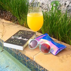 Wishing I could be in the pool today instead of working :P Excited to finally be reading The Ghost in the White City too. #pool #reading #newbook #mimosa #summer (ClevrCat) Tags: city summer white pool reading ghost working excited be p too mimosa instead today could finally wishing the newbook i instagram ifttt