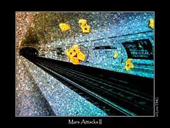 Mars Attacks II (Luna TMG) Tags: paris monster underground mtro tube monstre