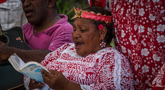 2016 - South Pacific Islands - Mar Song Book (Ted's photos - For me and You) Tags: red portrait face female book nikon singing guitar teeth earring singers cropped vignetting newcaledonia dents headband mar mouthopen headgear openbook songbook 2016 tedmcgrath tedsphotos nikonfx nikond750