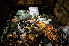 Harleyford Road Community Gardens-10 (Out To The Streets) Tags: wood london vegetables closeup garden sticks rubbish compost opengardens 2016 ogsw opengardens2016 ogsw16 harleyfordroadcommunitygardens 20160618