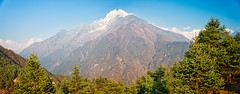 Peak of the Kongde Ri group, Khumbu Himal, Nepal (CamelKW) Tags: nepal kongderi 2016 mountainpeak khumbuhimal everestpanoram