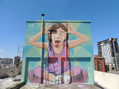 Scale la lengua a los problemas (D11 Urbano) Tags: boy art girl poster stencil arte venezuela nios caracas urbano venezolano arteurbano d11 streetartvenezuela artvenezuela d11streetart arteurbanovenezuela d11art d11urbano