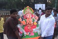 Ganesh Visarjan 2010 (Bangalore) 10 (umakant Mishra) Tags: bangalore hindureligion ganapati visarjana bangaloreevents umakantmishra soubhagyalaxmimishra ganeshvisarjana ursoorlake