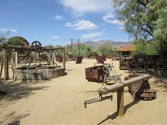 IMG_3143 (christeli_sf) Tags: deathvalley furnacecreek miningequipment scenicdrive