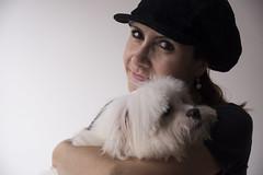 Retrato na Parede: Cristina e Sheldon. SP 21.05.2016 ( Du Navarro) Tags: portrait dog chien co dogs cane brasil retrato perro hund sp cachorro ces perros cachorros sheldon d600 nikond600 dunavarro crismassaini retratonaparede