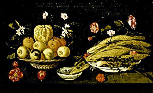 Still Life with fruits, vegetables and flowers (c.1678) - Josepha de Óbidos (1630 - 1684)