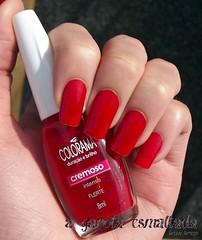 Esmalte Flerte, da Colorama. (A Garota Esmaltada) Tags: nails nailpolish unhas flerte esmaltes colorama agarotaesmaltada