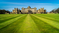 Gosford House lawn (tattie62) Tags: house colour building home grass lines architecture scotland lawn perspective symmetry mansion proportion statelyhome wealth eastlothian opulence gosfordhouse