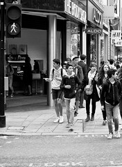which way (Wayne Stiller) Tags: street white black london pointing decision dedisions