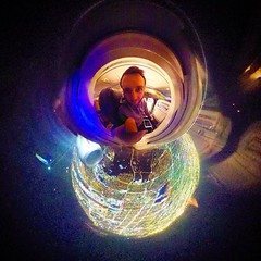 Los Angeles as a Christmas bauble  (LIFE in 360) Tags: square 360 virtualreality squareformat spherical 360view theta stereographic thetas photosphere tinyplanet tinyplanets 360panorama panorama360 littleplanet smallplanet 360camera 360photo 360photography 360video iphoneography instagramapp uploaded:by=instagram 360cam tinyplanetbuff tinyplanetfx tinyplanetspro ricohtheta theta360 rollworld livingplanetapp rollworldapp ricohtheta360 ricohthetas lifein360