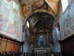 Certosa di Pontignano - 5 (anto_gal) Tags: chiesa siena toscana sanpietro affreschi interno certosa 2016 pontignano castelnuovoberardenga