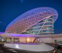 Yas Hotel (Walid photography) Tags: architecture hotel uae cities abudhabi likes yas yeshotel