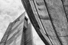 Buzludzha Monument angle (philiplewis100) Tags: building architecture sofia communist communism bulgaria buzludzha