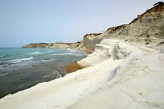 Scala dei Turchi (moniq84) Tags: sea sky italy rock la italia mare blu bleu cielo scala sicily bianca roccia spiaggia italie dei sicilia agrigento scogliera sicile turchi realmonte