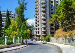 الطابيات (nesreensahi) Tags: اللاذقية الطابيات سوريا سورية syria siria landscape syrie sky street sun roses cars trees nature plants latakia