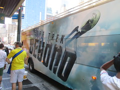 Star Trek Beyond - The Bus 2172 (Brechtbug) Tags: show street new york city nyc fiction bus film television trek computer movie poster star tv jj theater mr theatre manhattan district space rip ad broadway science double billboard midtown sidewalk ave captain spock scifi series beyond anton 1960s avenue abrams 8th futuristic kirk generated 45th decker the 2016 standee standees yelchin 07042016