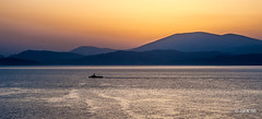 _DSC1413- Depuis Hydra. (Jack-56) Tags: sunset nikon bateaux greece greekislands grce hydra d700 lesgrecques nikkor2470mmf28