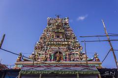 Kantha Kottam (Shanmuga Nathan) Tags: morning sky india art canon temple ngc culture bluesky shan 1855 chennai tamil prayers tamilnadu twop cwc ancientart natgeo muruga 600d parrys lordmurugan tamilgod lifeintamilnadu ommuruga chennaiweekendclickers cwcwalk capturemachine walk529 shanmuganathanphotography