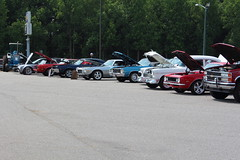 DCHS Auto Tech Car Show (trailersoftheeastcoast) Tags: carshow daviecountyhighschool autotechskillsusa classiccars stockto1959 stock196089 corvettesallyears streetrods camarosfirebirds196781 camarosfirebirds1982present mustang19641973 mustangs1974present euroimports trucks4x24x4 factorymusclecars tractors ratrods hotrods americancars