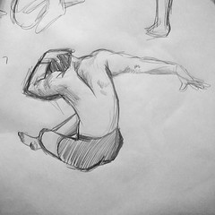 #57 of my 100 #gesturedrawings challenge. My hand doesn't have the confidence it once had, but I'll keep practicing... #artstudent #illustration #humanfigure (shannonhakala) Tags: 57 100 gesturedrawings challenge my hand doesnt have confidence it once had but ill keep practicing artstudent illustration humanfigure