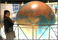 She wanted me to show her the world (The Stig 2009) Tags: thestig2009 thestig stig 2009 2016 tony o tonyo new york city nyc manhattan giant world daily planet superman jade daughter clark kent dailynews