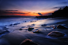 Seseh (eggysayoga) Tags: sunset bali beach rock indonesia landscape temple nikon tokina filter lee nd graduated waterscape gnd canggu seseh 1116mm d7000