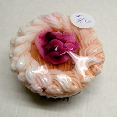 Cupcake - sm. $3.00; lg. $4.00 (Clelian Heights) Tags: food dessert soaps unscented decorativesoaps cleliansoaps 35cleliansoaps