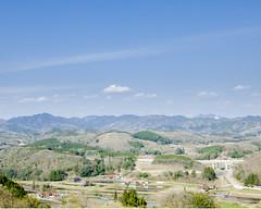 Countryside of Hiroshima (hisaya katagami) Tags: sky mountain japan canon eos country hiroshima 5d digitalcamera markii