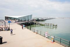 e&a visit (flwrmn) Tags: uk sea pier day cloudy united kingdom sunny southend partly