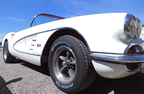 Little white Corvette