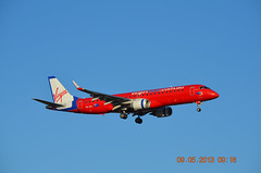 Virgin Blue EMB190 VH-ZPJ Melbourne Tullamarine 09 May 2013 (denmac25) Tags: blue melbourne virgin tullamarine emb190
