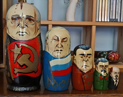 First Secretaries Matrioshka (Cold War Warrior) Tags: matrioshka russiandoll