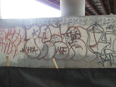 rezist (TheRapLetterTechnician) Tags: nova graffiti virginia dc md track metro side maryland va rezist dmv throw nsf trackside