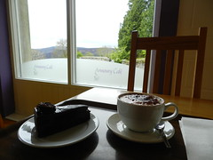 My 7h spin - Glencree (St.Stello) Tags: ireland food cake chocolate valentine cappuccino cowicklow glencree nikoncoolpixp500 armourycafe