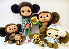 My gang of Cheburashkas....
