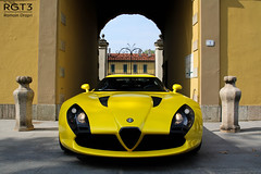 Alfa Romeo TZ3 Stradale (RGT3 Pics) Tags: red white black paris france cars yellow canon silver rouge hotel automobile italia noir grigio uae fast automotive voiture casino monaco mc porsche enzo alfa romeo dodge rolls gto carlo monte gt carbon viper bugatti rosso rs bianco blanc luxury rare romain nero scuderia royce luxe bentley maserati laren koenigsegg stradale exotics supercars veyron f40 supersport f50 zagato pagani fxx 60d tz3