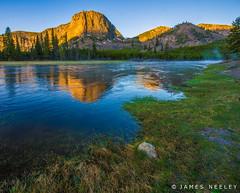 Mount Haynes Sunrise (James Neeley) Tags: sunrise landscape yellowstonenationalpark yellowstone alpenglow ynp madisonriver jamesneeley b2013