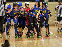 """Stockholm BSTRDs vs. Dock City Rollers-24 • <a style=""""font-size:0.8em;"""" href=""""http://www.flickr.com/photos/60822537@N07/8995163237/"""" target=""""_blank"""">View on Flickr</a>"""