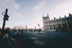 Westminster (stoyanov ) Tags: uk england fish london eye tower film westminster thames river underground big fuji ben metro kodak britain 10 united great tube grain kingdom fisheye mm process metropolitan vsco