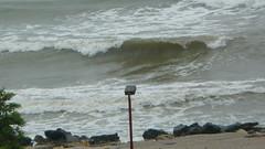 [rainy] (Andrei'f) Tags: sea black beach coast wave cap rainy shore aurora romania blacksea breaker constanta marea mangalia mareaneagra neagra capaurora