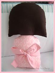 mariana 088 (Joanninha by Chris) Tags: de handmade pillow bebe patch kokeshi almofada tecidos aplicao enxoval feitoamo