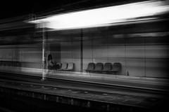 Brief Memories - Station 03 (Yoshi T. (kagirohi)) Tags: railroad blackandwhite bw monochrome station japan canon blackwhite kyoto railway explore       explored