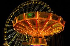 Cranger Kirmes (bernd obervossbeck) Tags: carnival lights roundabout bigwheel funfair kirmes karussell riesenrad lichter giantwheel jahrmarkt kettenkarussel crangerkirmes flyingswing mygearandme mygearandmepremium mygearandmebronze mygearandmesilver mygearandmegold