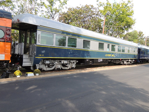 Cannon Ball private rail car (USA)