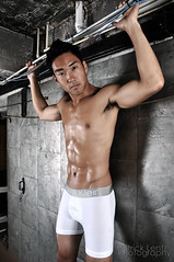 Louis (shoot 2) 104 (Violentz) Tags: shirtless portrait man male guy louis model skin body torso physique patricklentzphotography
