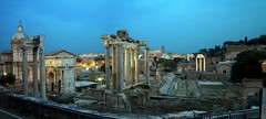 Forvm Romanum panorama | Forvm Romanum panorama