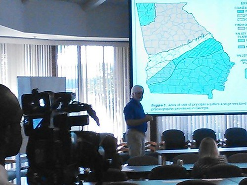 "Franklin White, Fox 31, and Gordon Rogers, Flint Riverkeeper at WWALS Water Conference • <a style=""font-size:0.8em;"" href=""http://www.flickr.com/photos/85839940@N03/9587979851/"" target=""_blank"">View on Flickr</a>"